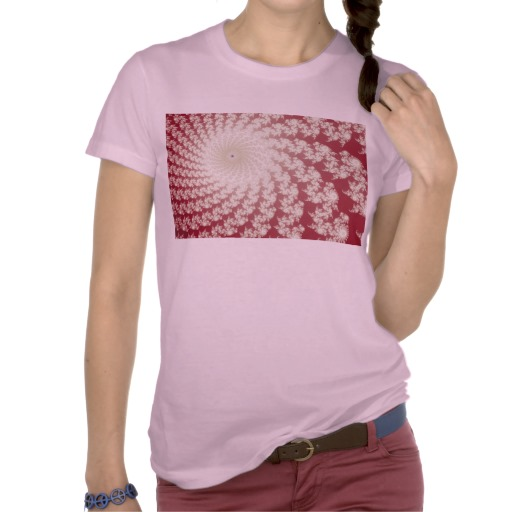 Smooth Red Whirlpool T-Shirt