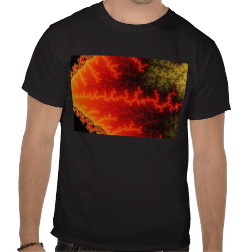 Flame Zigzag T-Shirt