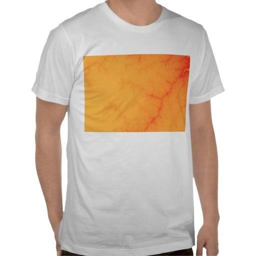 Tangerine Capillary T-Shirt