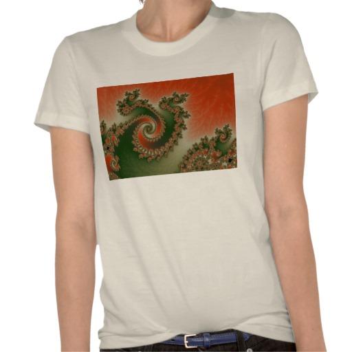 Pimento Olive Triple Twirl T-Shirt