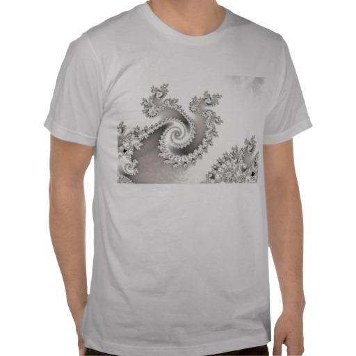 Silver Triple Twirl T-Shirt