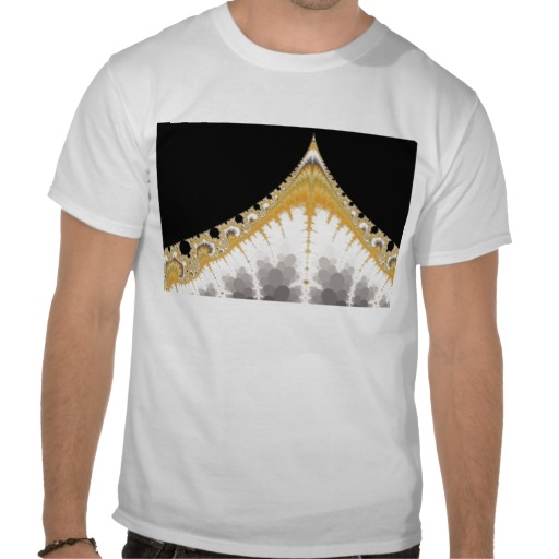 Silver and Gold Volcano T-Shirt