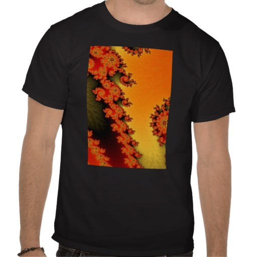 Flaming Lines T-Shirt
