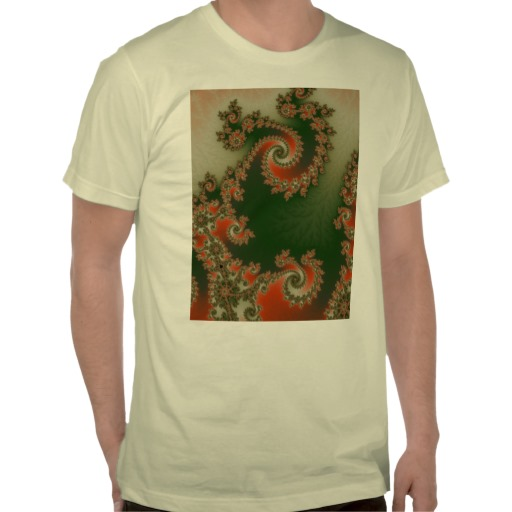 Pimento Olive Double Spiral T-Shirt