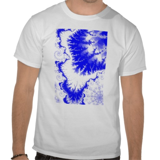 Blue Feathered Star T-Shirt