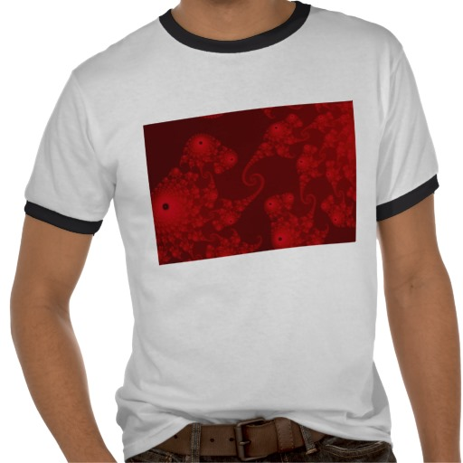 Deep Red Seahorse Herd T-Shirt