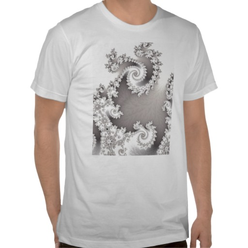 Silver Double Spiral T-Shirt