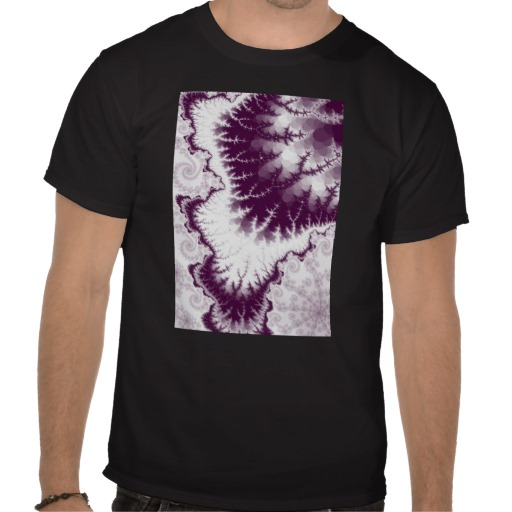 Plum Feathered Star T-Shirt