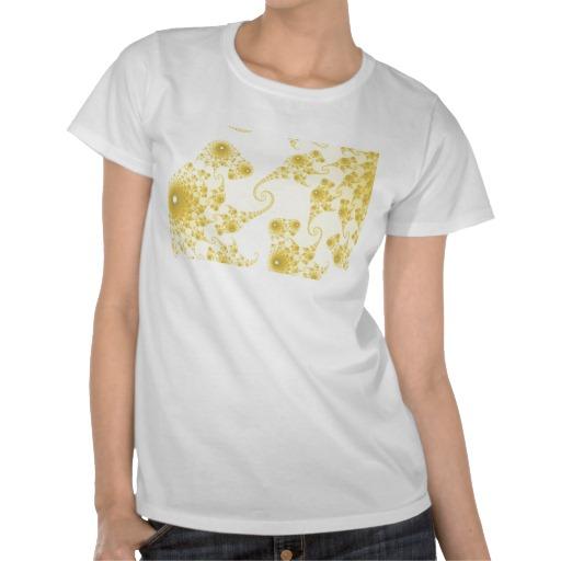 Yellow Gold Seahorse Herd T-Shirt