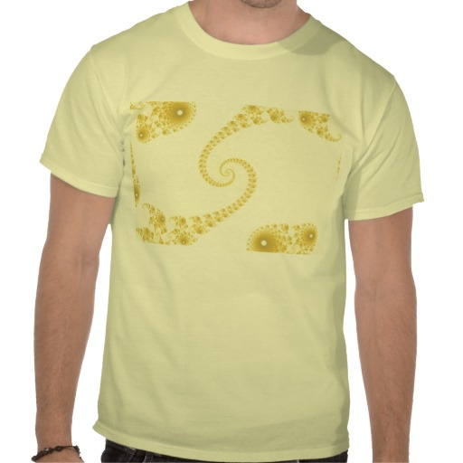 Yellow Gold Double Spiral T-Shirt