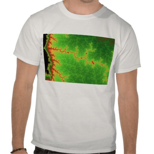 Green Fault Line T-Shirt